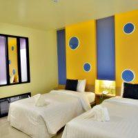 ห้องซูพีเรีย เตียงคู่ โรงแรม ณ ทับเที่ยง บูติค รีสอร์ต ตรัง